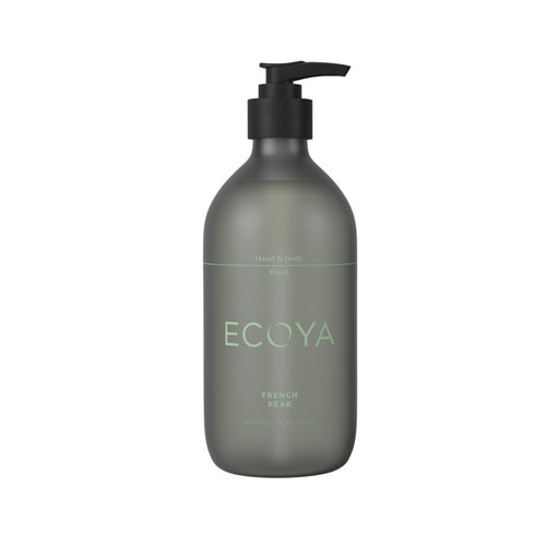 ECOYA HAND & BODY WASH FRENCH PEAR 450ML