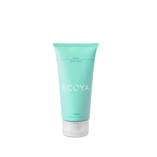 ECOYA SORBET LOTION 200ML CORAL