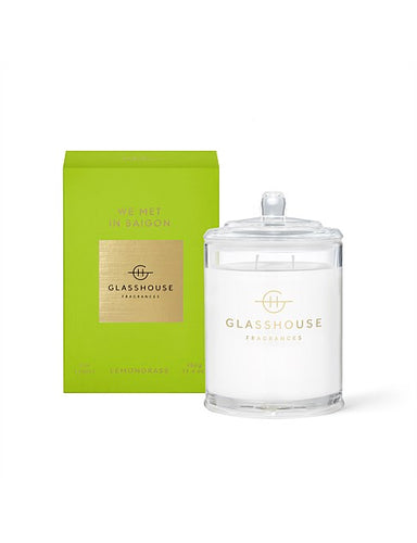 GLASSHOUSE CANDLE 380G- WE MET IN SAIGON