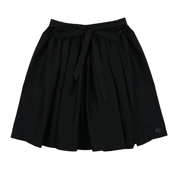 Belted Black Skirt by Touriste