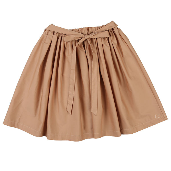 Toffee Belted Skirt by Touriste