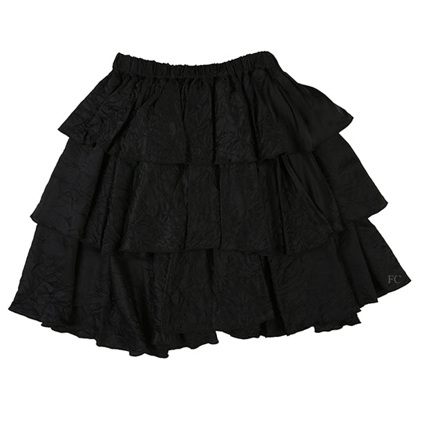 Curled Flounce Skirt by Touriste