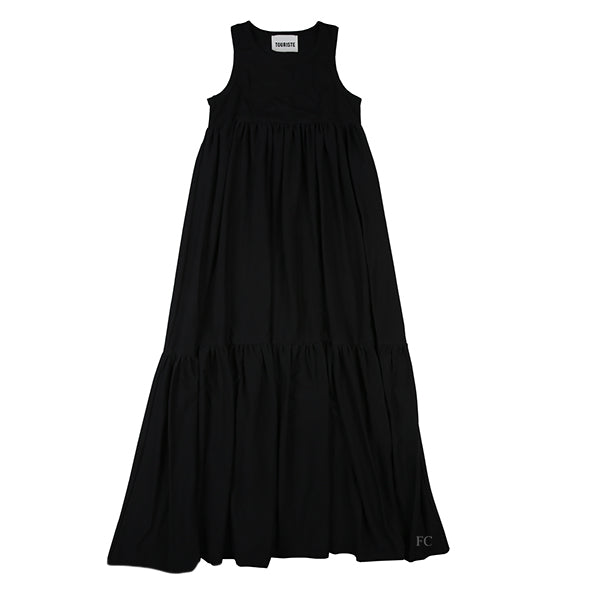 Black Tank Dress by Touriste