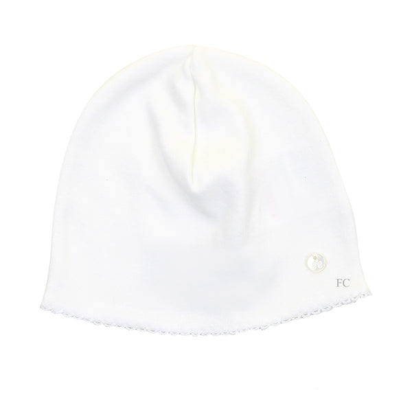 Scallop Trim Hat by Tartine et Chocolat