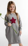 Star Sweatshirt Dress by Maybe4Baby