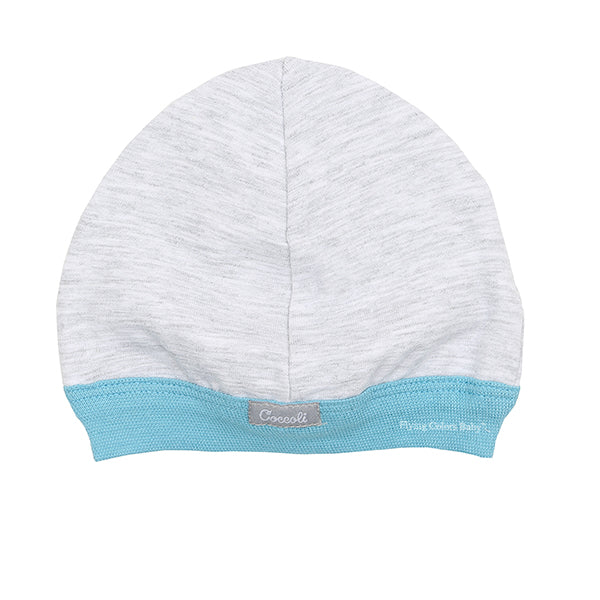 Milky Blue Cotton Cap by Coccoli