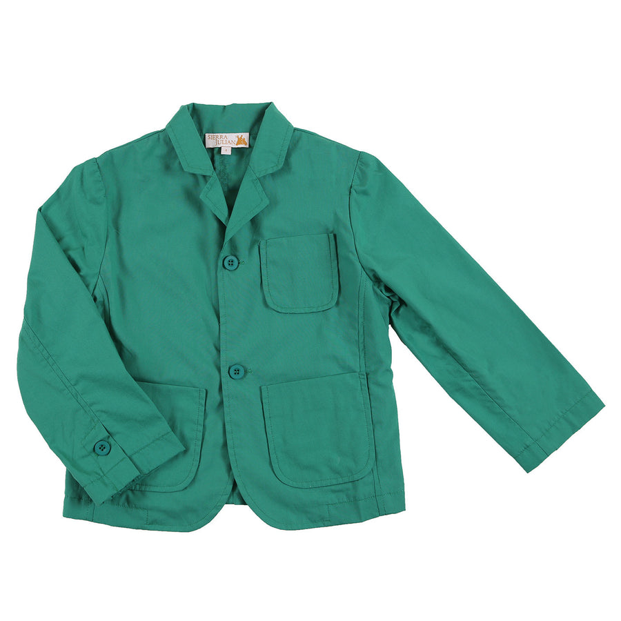 Grinto Green Blazer by Sierra Julian - Flying Colors Baby
