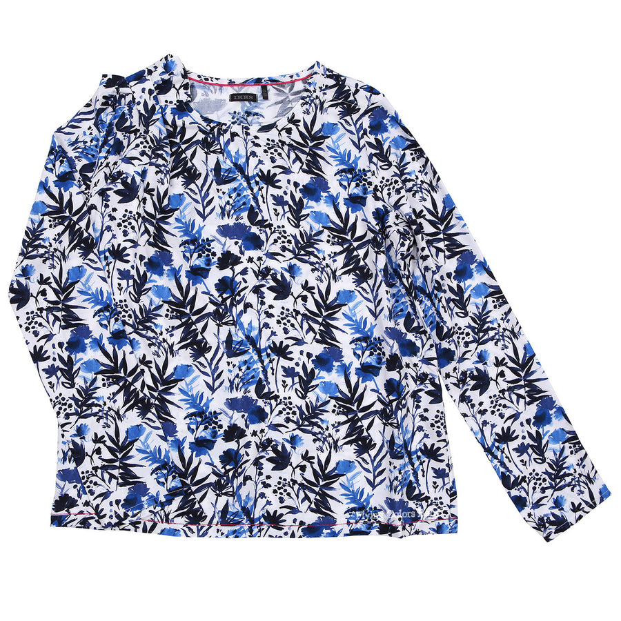 Girls Floral Print Blouse by IKKS - Flying Colors Baby