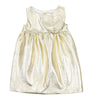 Gold Heart Dress by DOU DOU - Flying Colors Baby