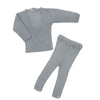 Blue Grey Legging Set by Carmina