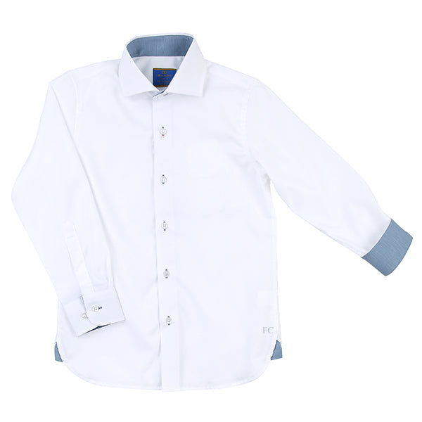 White Collar Shirt by Alfa Perry