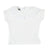 Off White Pointelle T-Shirt by Tocoto Vintage