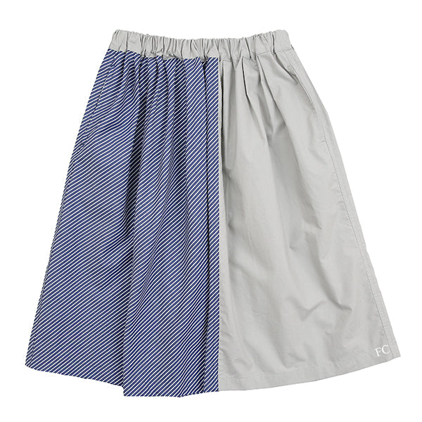 Bias Striped Skirt by Arch & Line