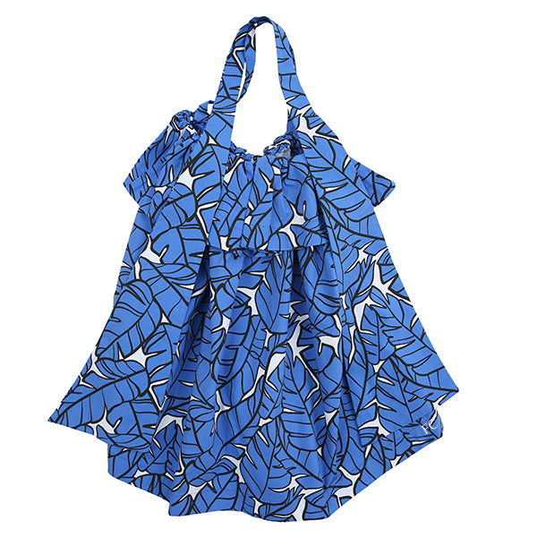 Blue Printed Dress by MSGM