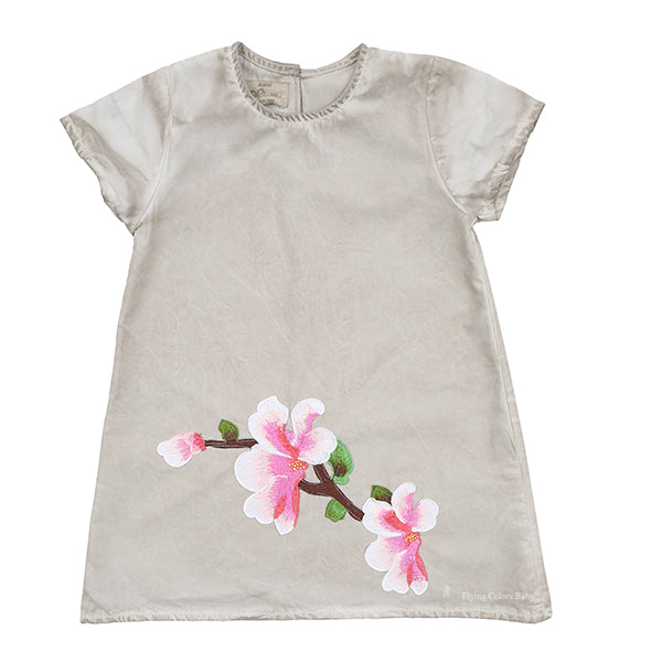 Flower Applique Dye Dress by Olive