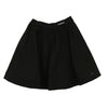 Black Skirt with White Piping by Val Max