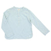 Paul Misty Blue Crepe Shirt by Buho