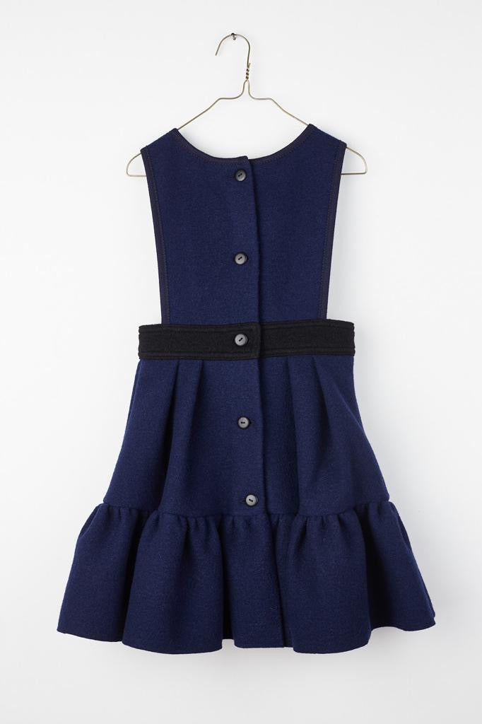 Bow Ruffle Dress by Hilda Henri