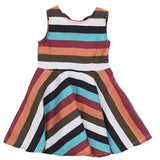 Striped Sleeveless Dress by Dreamers