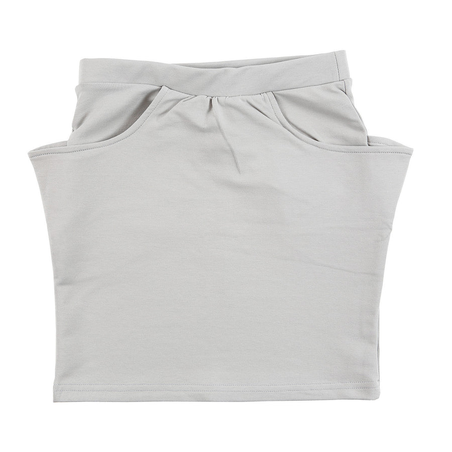 Grey Sprout Organic Knee Skirt by Gro