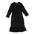 Black Ruched Dresss by TLB