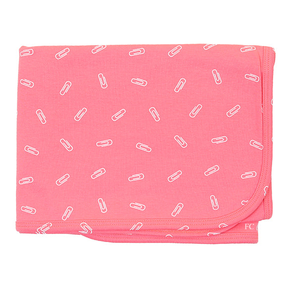 Coral Print Blanket by Chant De Joie