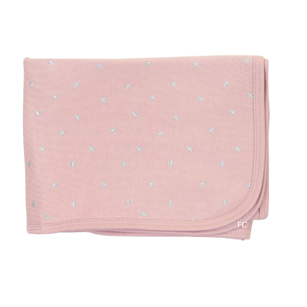 Pink Silver Crown Blanket by Chant De Joie