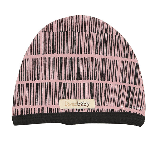 Mauve  Barcode Cute Cap by L'ovedbaby