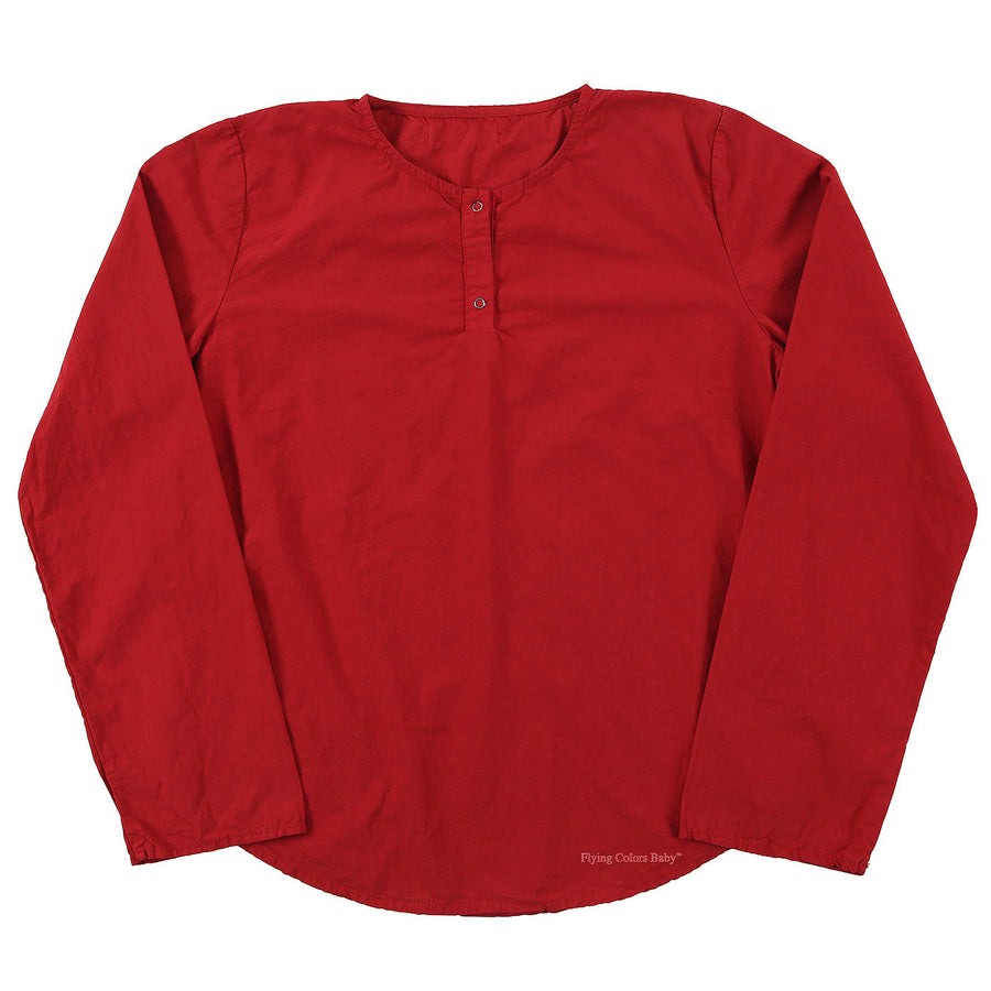 Red Long Sleeve Shirt by CUCU LAB