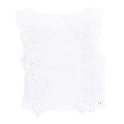 Eyelet Blouse by Pure