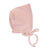 Pink Silver Crown Bonnet by Chant De Joie