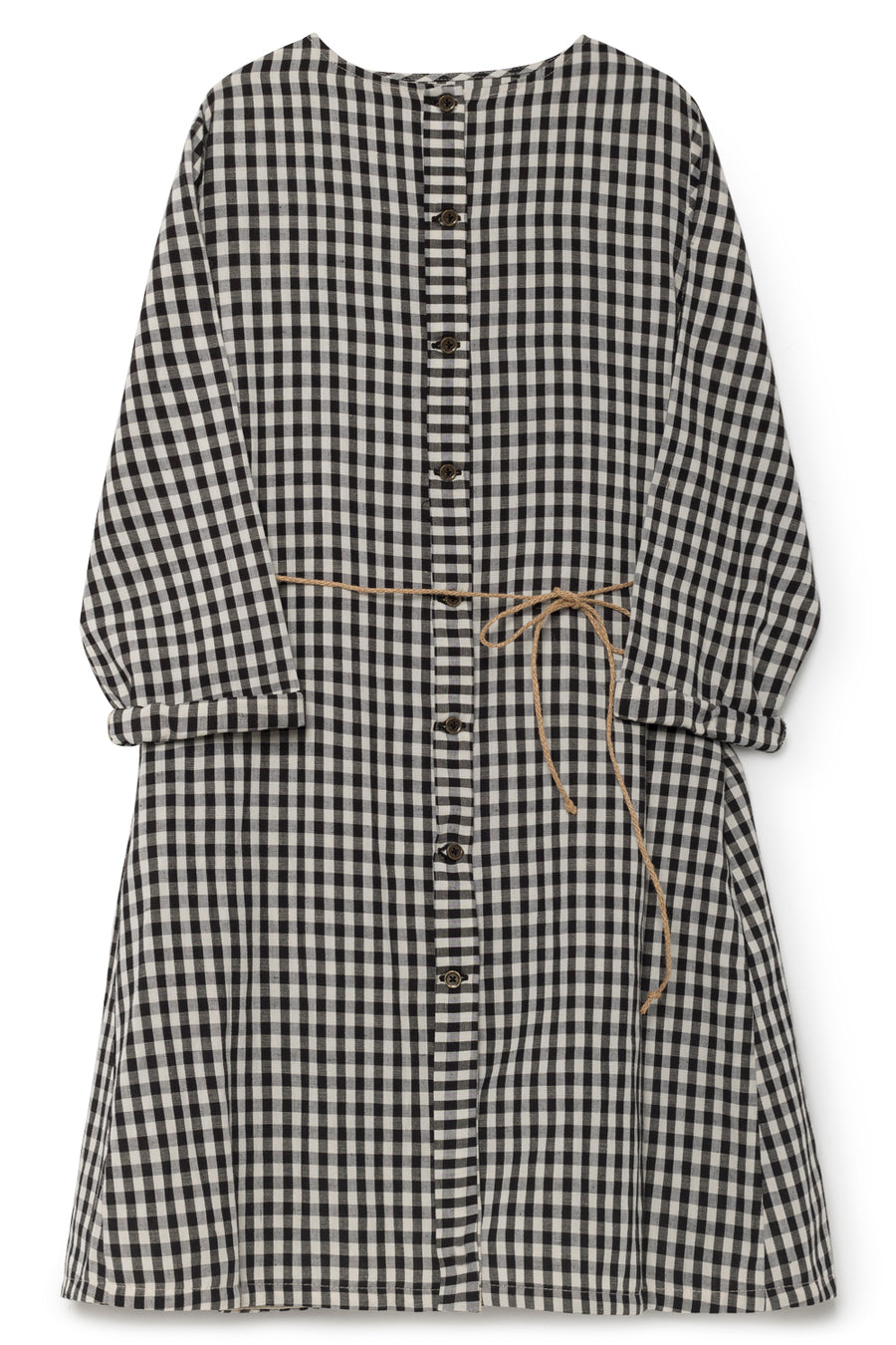 Checked Sack Dress by Little Creative Factory
