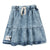 Acid Jeans Skirt by Booso