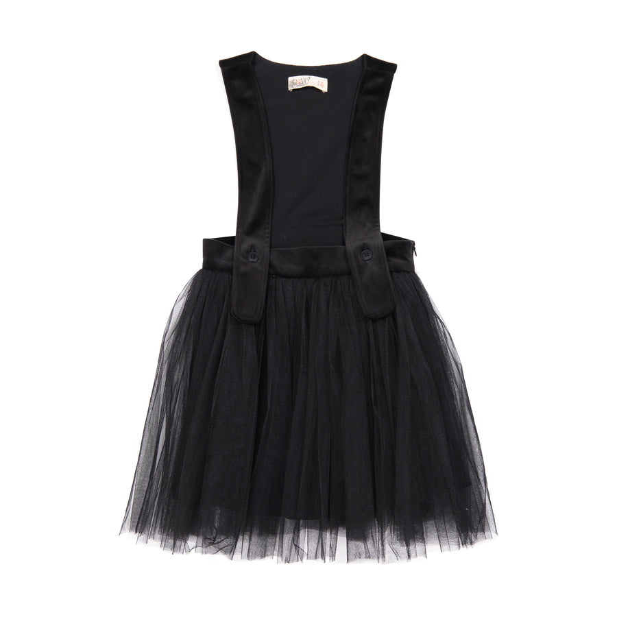 Tulle and Velvet Suspender Dress by Nove