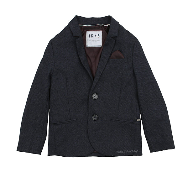 Navy Suit Jacket By Ikks
