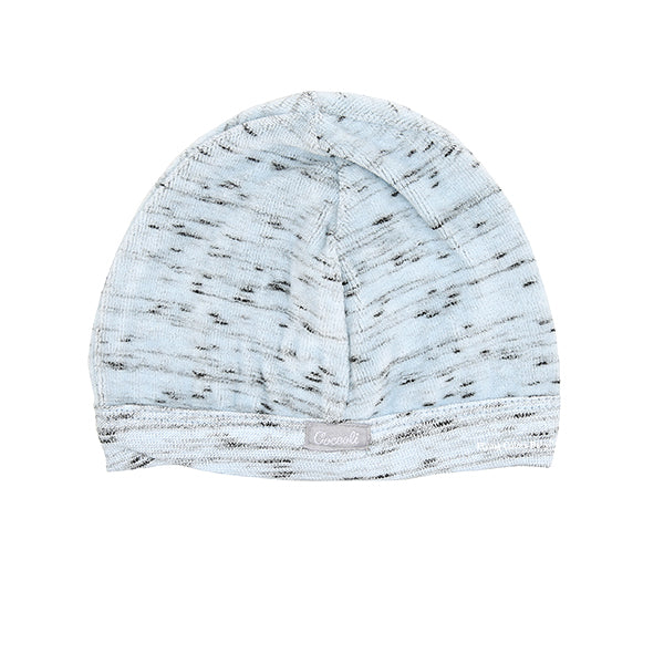 Baby Blue Bark Velour Baby Hat By Coccoli