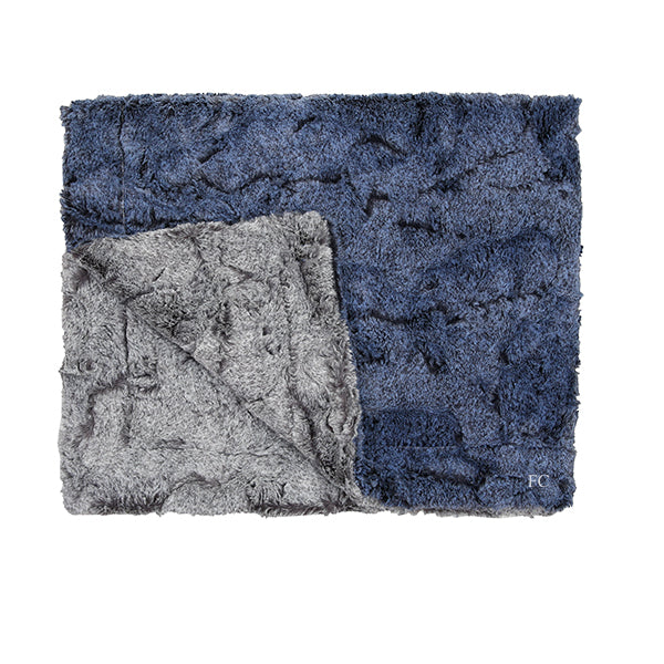 Amelia Chambray Blanket by Zandino