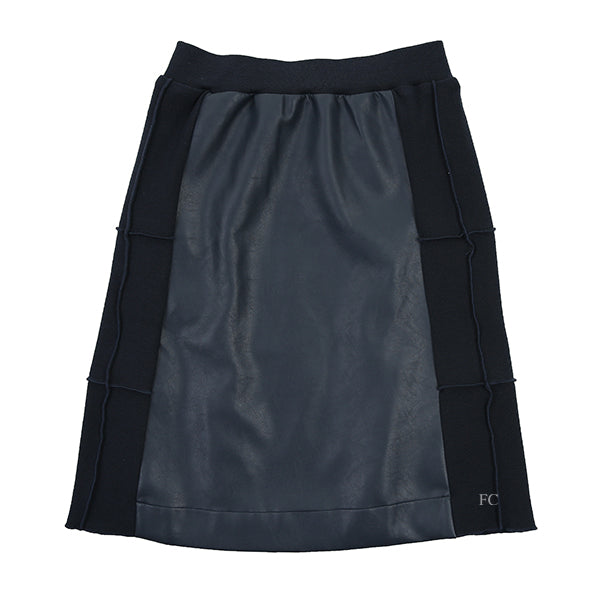 Leather Panel Skirt by Paisley