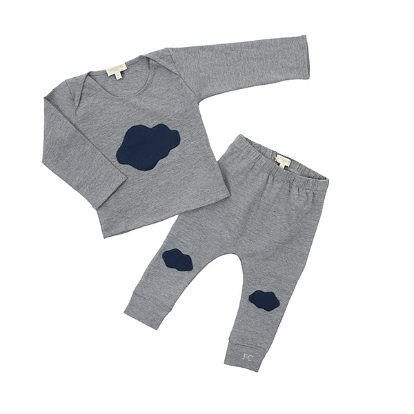 Cloud Grey Set by Moon Paris