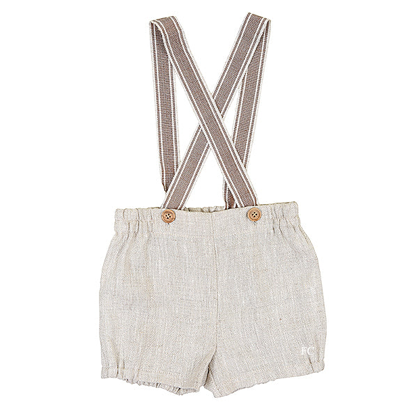 Talla Suspender Shorts by Fina Ejerque