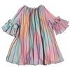 Multi Pleated Tulle Dress by Pamilla