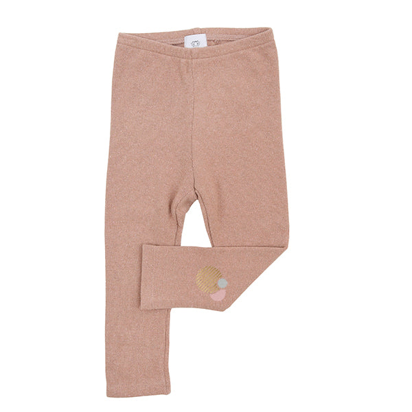 Pink Knit Leggings by Lally Mally