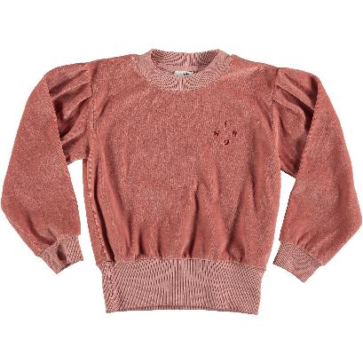Rose Velour Sweatshirt by Picnik