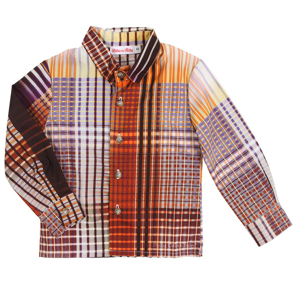 Clint Spirit Tartan Shirt by Rita co Rita