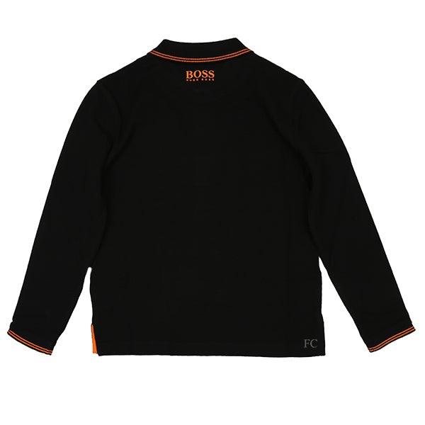 Black Badge Logo Polo by Hugo Boss