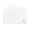 White Velour Hat by Olive