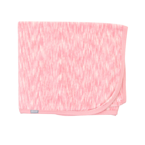 Pink Space Dye Velour Blanket by Coccoli
