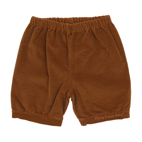Brown Shorts by Olive by Sisco