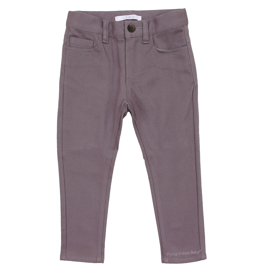 Maxwell Dark Grey Trousers by Liho