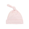 Pink Solid Knot Hat by Tun Tun